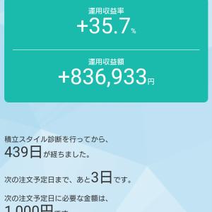 投資信託1週間の振り返り(10/9~10/16)