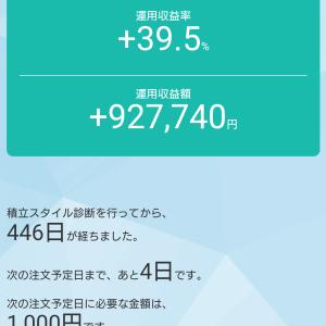 投資信託1週間の振り返り(10/16~10/23)