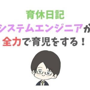 【育休日記】SEの全力育児![4日目]