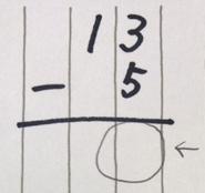 引き算の筆算で、上の数から下の数が引けないとき、逆に引いてしまう子のやり方を認めてしまうウラワザ