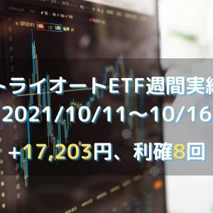 【トライオートETF】2021年10月11日週(+17203円)