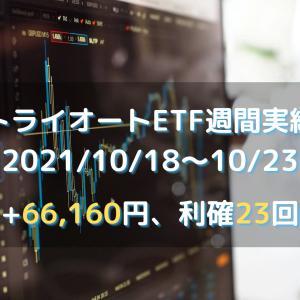 【トライオートETF】2021年10月18日週(+66160円)