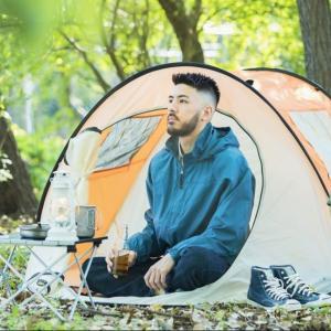 YouTubeで体験するソロキャンプ