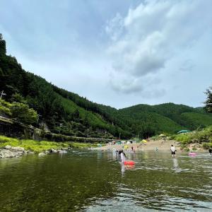 関西のデイキャンプと川遊びのオススメ場所