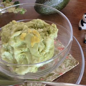 伝説の家政婦 志麻さんが作っていたアボカドアイスクリーム