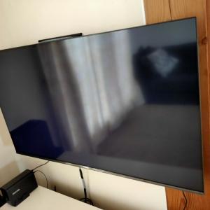 テレビを壁掛けにした結果