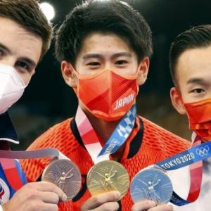 体操中国銀メダリスト「選手に過度な攻撃はやめてほしい」とSNSで呼びかけ。 金メダリスト橋本選手を拍手で讃える