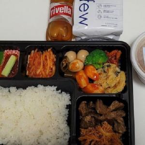 【画像】韓国五輪選手の弁当、しょぼい・・・
