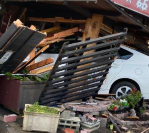 栃木の肉屋さん83歳店主「やっとやっとです😵 娘や孫の手を借り店を綺麗にしました」→ 次の日店に車が突っ込み店内がめちゃめちゃになる・・・(動画あり)