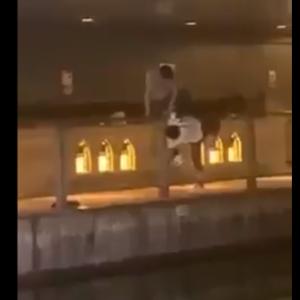 「外国人が溺れている」と通報  道頓堀に突き落とされたか、男性死亡  大阪(動画あり)