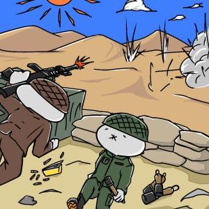みんなで!ドンパチ砂漠!