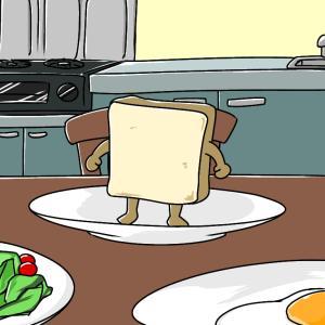 おのずと立ち上がるパンだよ!!