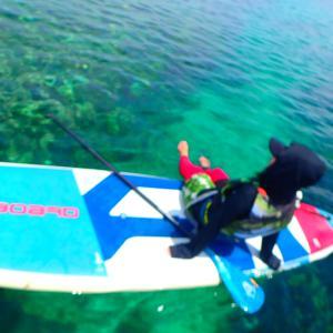 西表島旅行記②【SUPツアー】西表島の海の美しさを体感しようっ!