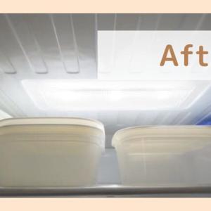【捨てる】保存容器(タッパー)を減らして冷蔵庫に収納する