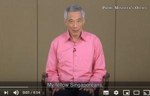 【シンガポール リー首相】COVID-19状況についての国民向け演説(3/12)