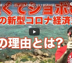 【デマテレビよりYouTube】なぜ!?遅くてショボい日本の新型コロナ経済対策について
