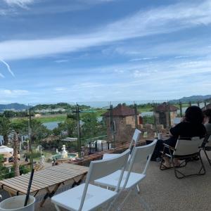 釜山で話題のカフェviaggio
