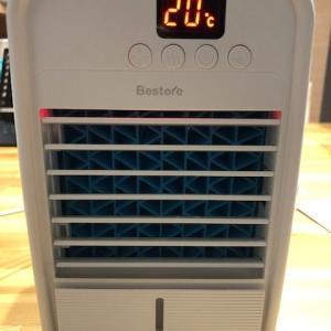 夏に備えて卓上の小型冷風機を購入してみました。巣ごもりの際のプライベート用にいかがですか?