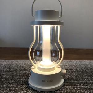 BALMUDA The Lantern|おしゃれインテリア|やさしい明りのかわいいランタン(ホワイト)