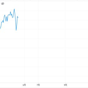 【S&P500の季節性チャート】←1~5月を振り返ると、今年も結構同じような動きをしてますね