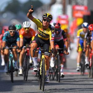 ツール・ド・ワロニー第4ステージ、フルーネウェーヘン2勝目