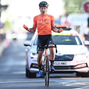 ツアー・オブ・ブリテン第2ステージ、ラリーサイクリングのロビン・カーペンターが勝利