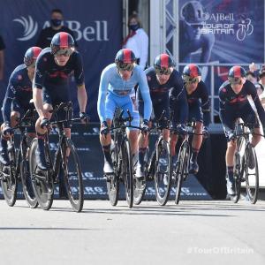 ツアー・オブ・ブリテン第3ステージ、チームタイムトライアルをイネオス・グレナディアスが勝利