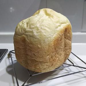 完成形に近づいてきた!最低限の材料で作る:シンプル食パン【ホームベーカリー】