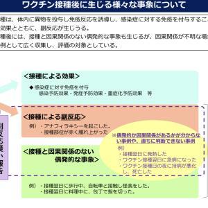 【2021年10月15日】【厚生労働省】新型コロナワクチンの副反応疑い報告について