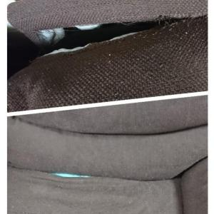 ニトリのソファーが1年3ヶ月で破れた(>_<)保証書なくしたけど他商品と交換できました!