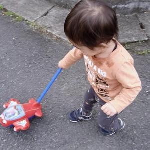 【1歳4ヶ月】まだしゃべれないサンオくんとたんぽぽ。