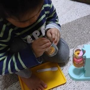 【1歳5ヶ月】サンオくんの好きな遊び