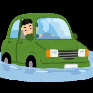 浸水車両からの脱出