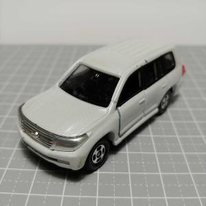 1091 トミカ No5(2008) トヨタ ランドクルーザー(100系) パール