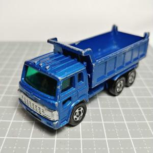 1099 トミカ No52(1989) 日野 ドルフィン ダンプ トラック 青メタリック