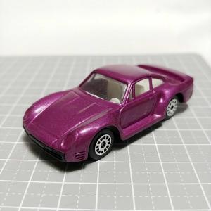 1101 メーカ不明 ポルシェ 959風 紫メタリック