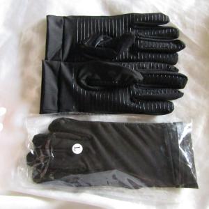 銅繊維で作られた手袋で感染予防!