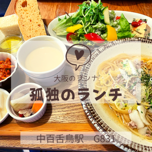 【大阪グルメ】中百舌鳥駅で野菜たっぷりの健康的ランチ!/G831
