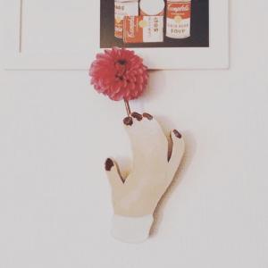 ズボラママでもおうちをお洒落に〜壁掛け一輪挿し花瓶〜