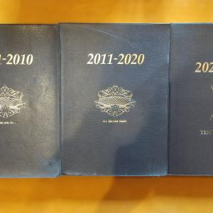 『10年日記』3冊目。家族の記録を振り返る時に便利です。