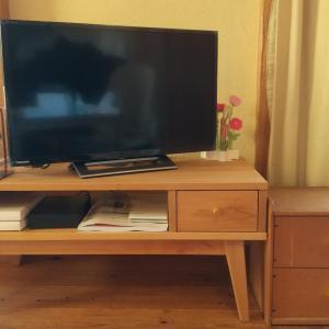 インターネットテレビとテレビ台を購入