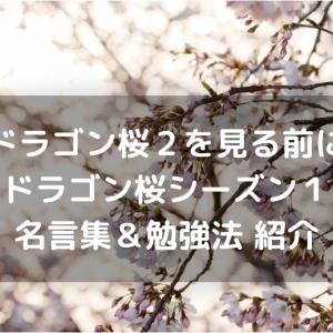 【2021年春】ドラゴン桜2を見る前にシーズン1のあらすじから大事な点をおさらい