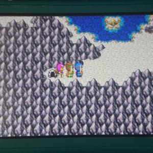ドラクエ2 ロンダルキアの洞窟を抜けました