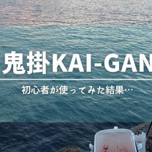 鬼掛【KAI-GAN】初心者が使ってみた結果