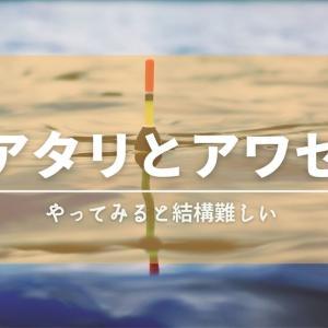 アタリとアワセについて【フカセ釣り】