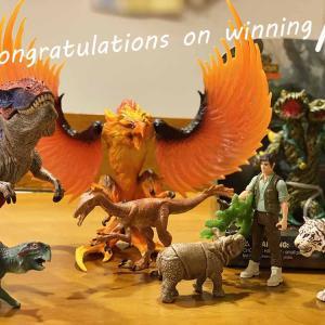 【シュライヒ 猛々しいフィギュアセット当選記念】人気のシュライヒ 恐竜&モンスタープレゼント中身を徹底解説!