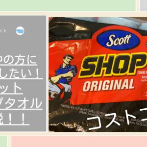 【コストコ】子育て中の方にオススメしたい!スコットショップタオル万能説!!