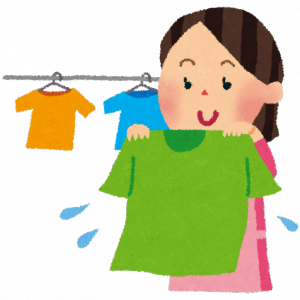 おひとり様 仕事服を片付け⁉️朝から洗濯‼️
