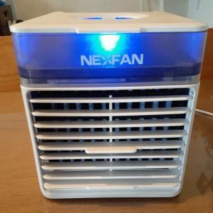 冷風扇エアコンとセットで夜もエアコンかけ過ぎなくても自然な涼しさ。卓上冷風扇コンパクトモデルも。