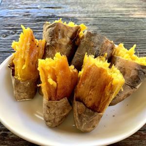 バリ島の焼き芋屋さん